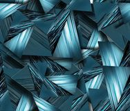 Seamless triangles Royalty Free Stock Photos