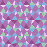 Seamless triangles backgound pattern Stock Photography