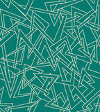 Seamless triangles background Stock Photography