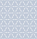 Seamless triangles and hexagons pattern. Stock Image