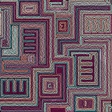 Seamless tribal abstract stripped geometric Stock Photos