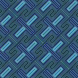 Seamless tribal abstract stripped geometric Royalty Free Stock Images