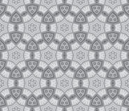 Seamless tribal abstract stripped geometric Stock Image