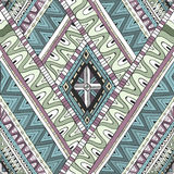 Seamless tribal doddle ethnic pattern. Stock Photography