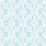 Seamless Tribal Drawn by Hand Ethnic Pattern royalty free illustration