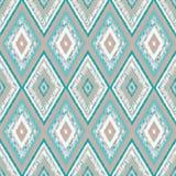 Seamless tribal ornamen 02 Royalty Free Stock Image