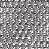 Seamless tribal pattern with a diamond motif of an African tribe royalty free stock image