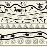 Seamless tribal pattern Stock Image