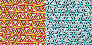 Seamless tribal pattern Stock Images