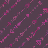 Seamless tribal pattern Royalty Free Stock Image