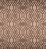 Seamless Tribal Retro Wallpaper Royalty Free Stock Image