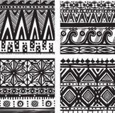 Seamless tribal texture Stock Photo
