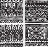 Seamless tribal texture Stock Photography