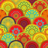 Seamless tribal texture set. Tribal seamless texture. Vintage ethnic seamless backdrop. Boho stripes. Striped vintage boho. Fashion style pattern background Royalty Free Illustration
