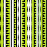 Seamless tribal texture. Tribal pattern. Colorful ethnic striped Stock Images