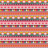 Seamless  tribal texture. Tribal  pattern. Colorful Stock Photography
