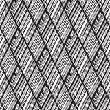 Seamless  Tribal vector pattern Stock Image