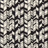 Seamless  Tribal vector pattern Royalty Free Stock Image