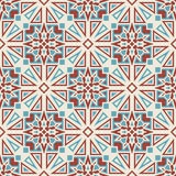 Seamless Tribal vector pattern Royalty Free Stock Images