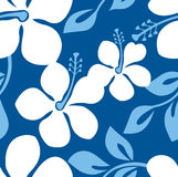Seamless Tropical Flower Pattern stock photography