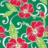 Seamless Tropical Holiday Pattern stock illustration