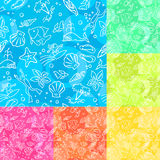 Seamless Tropical Pattern Stock Photo
