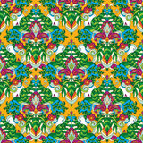 Seamless tropical pattern Royalty Free Stock Images