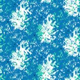 Seamless tropical vector pattern Stock Photos