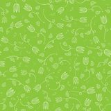 Seamless tulip pattern Stock Photos