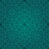 Seamless turquoise abstract pattern Royalty Free Stock Photography