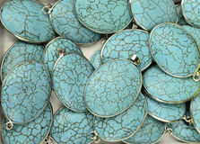 Seamless turquoise locket Royalty Free Stock Photography