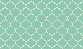 Seamless turquoise wide moroccan pattern vector. Seamless turquoise wide moroccan pattern Stock Photography