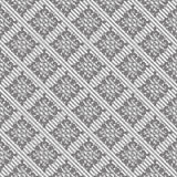 Seamless tweed pattern in grey Stock Image