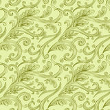 Seamless twirl Pattern Stock Photo