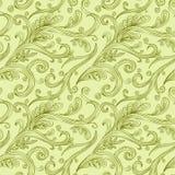 Seamless twirl Pattern Royalty Free Stock Photography