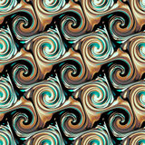 Seamless twirls abstract Stock Photography