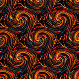 Seamless twirls abstract Royalty Free Stock Photos