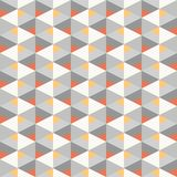 Seamless geometric recurring colorful triangle pattern texture element with grayscale elements. Seamless geometric recurring colorful triangle pattern texture Royalty Free Illustration