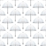 Seamless umbrella Stock Photography