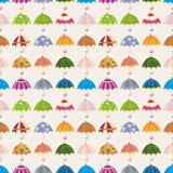 Seamless umbrella pattern Stock Photo