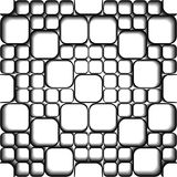 Seamless uncolored pattern Royalty Free Stock Photos