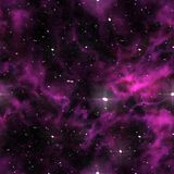 Seamless universe texture Royalty Free Stock Photos