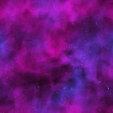 Seamless universe texture Royalty Free Stock Photography