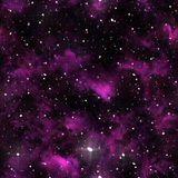 Seamless universe texture Royalty Free Stock Images