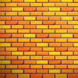 seamless vägg för tegelsten Royaltyfri Fotografi