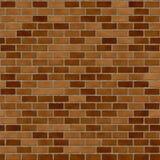 seamless vägg för tegelsten Arkivbild