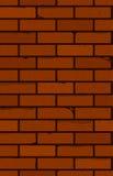seamless vägg för tegelsten Den röda tegelstenen vektor illustrationer