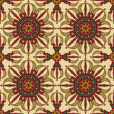 Seamless Vajra pattern Stock Images