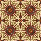 Seamless Vajra pattern Stock Images