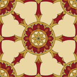 Seamless Vajra pattern Royalty Free Stock Image